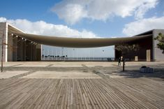 Portuguese National Pavilion (Pavilhão de Portugal)  Cais Português  Lisbon 1900  Portugal