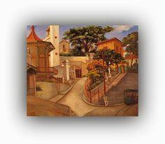 Bonde de Santa Teresa , 1946 Acervo da Pinacoteca do Estado de São Paulo (SP)  Paulo Cláudio Rossi Osir (São Paulo, 1890 — São Paulo,1959) foi um pintor, desenhista, arquiteto e industrial brasileiro que teve grande importância no desenvolvimento da pintura moderna em São Paulo.  http://sergiozeiger.tumblr.com/post/96474645653/paulo-claudio-rossi-osir-sao-paulo-1890-sao