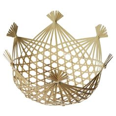 Bamboo Steamer Basket - want want want - $36 - technically for food but can work as a catchall, too
