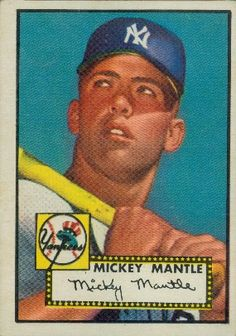 Mickey Mantle 1952 Outfield - New York Yankees  Card Number: 311  Series: Topps Series 1