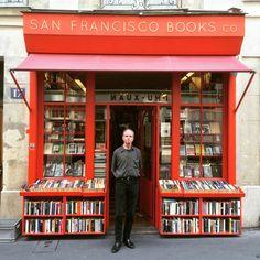 San Francisco Books Company, Paris, France More