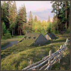 Small Viking Lodge