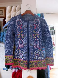 Fitted Jacket with Embroidery by loopyworks, via Flickr