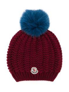 #moncler #kids #hat #fur #pompom #beanie #kidswear www.