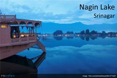 The not so touristy step sister of the Dal lake, Nagin lake offers great views, serene waters, sweet bird songs and good opportunities for angling. This lake is considered more charming than the Dal lake by many, because it is less crowded.  #JammuAndKashmir | #India | #Travel
