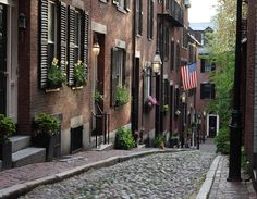 Acorn Street Beacon Hill à Boston