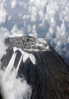I will climb Mt. Kilimanjaro someday.