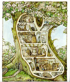 McClellan Clan: Brambly Hedge