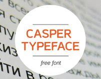 Casper  Typeface free font