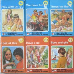 VINTAGE childrens readers KEY WORDS READING SCHEME key word SERIES BOOKS Reading Skills, Teaching Reading, Sight Word Readers, Homeschool Books, Ladybird Books, Early Readers, English Book, Library Books, Childrens Books