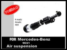 front right air suspension spring shock absorber strut for Mercedes Benz S-Class W221 4matic CL-Class W216 C216 4X4 wheel drive