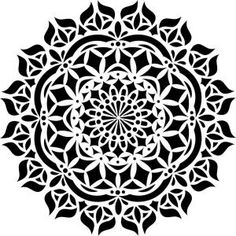 Delicate Floral Wall Stencil Designer Stencils Asana Mandala Stencil The Home Depot for ucwords] #