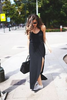 Welcome The Summer With A Casual Maxi Dress