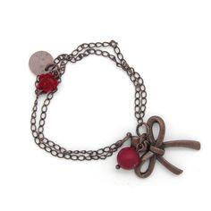 Copper Bow bracelet. Pulsera Lazo de cobre » Torques Complementos. Venta online de complementos de moda