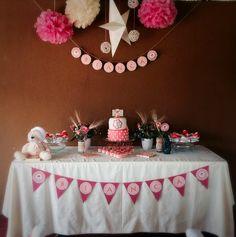 Mesa dulce para primera comunión  First communion dessert table
