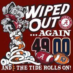 195 Best Alabama Vs Auburn Images Alabama Vs Auburn Roll Tide