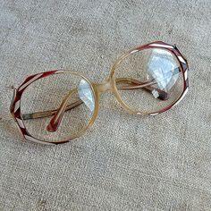 28bdb5db0a Vintage very beautiful eyeglasses Oversized eyeglass Retro eyewear frame  Women men eyeglasses Old grandpa grandma eyewears Reading glasses