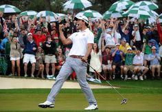 Aussie Adam Scott Wins Masters Golf Tourney In Playoff