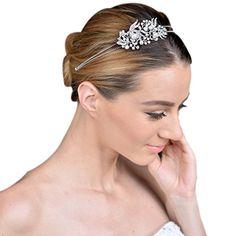 Ever Faith österreichischen Kristall künstliche Perle elegant Braut Haarband - klar-Silber-Ton N04447-1 Ever Faith http://www.amazon.de/dp/B00PAQXEX4/ref=cm_sw_r_pi_dp_ZCBWvb1YDZM0C