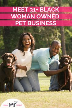 Discover more than 31 black women in the pet industry who are baking treats, grooming and training dogs, running stylish dog shops and more! The pet industry needs to be more diverse and these women are leading the way! From a kidpreneur to women with decades of experience working with pets - these are inspiring black women who love working with dogs! Check out this list and support these black owned businesses with your dog! Pet Services, Dog Cleaning, Find Pets, Dog Memes, Dog Training Tips, Black Women, Black Girls, Dog Gifts, Pet Shop