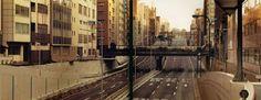 Empty Tokyo streets. Tokyo, Japan. Photograph by Masataka Nakano.