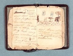 The first preserved writing by Charlotte Brontë: a miniature book made for and about her sister Anne.