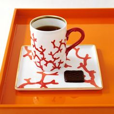 Beautiful !  Raynaud Cristobal Koralle Porzellan | Artedona.com