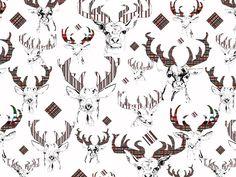 Jelenie -  http://cottonbee.pl/tkaniny/zwierzeta/5176-jelenie.html
