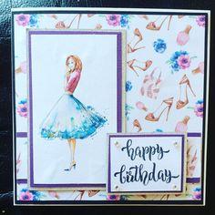 #birthdaycard #handmade #papercraft #crafting #craftersofinstagram #makingcardsmagazine #cardmaking #birthday #cardmakersofinstagram