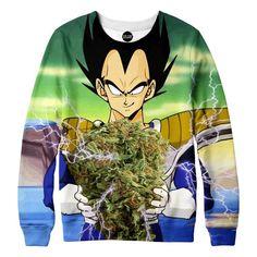 Vegeta Super Saiyan Nug Sweatshirt