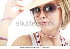 Portrait Of Very Strong Beauty Girl With Glove In The Mouth Stock Photo 1456204 : Shutterstock