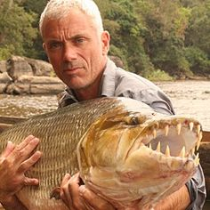 I will never again go in a river thanks to Jeremy Wade.
