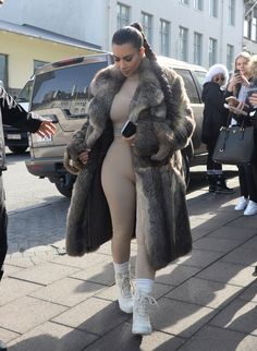 kimwestpictures:  Kim out & about in Reykjavik, Iceland - April 18th 2016 credit: kardashianworld
