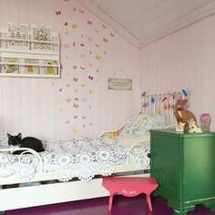 Girl's room with butterflies #bunnyandfriend