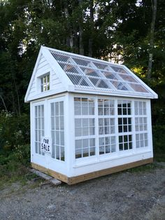 Garden - Liberty, ME greenhouse from recycled windows Diy Greenhouse Plans, Window Greenhouse, Backyard Greenhouse, Small Greenhouse, Backyard Sheds, Backyard Landscaping, Greenhouse Wedding, Garden Sheds, Backyard Projects