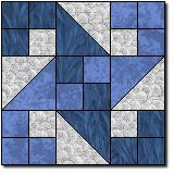Waterwheel Variation for block Colchas Quilting, Quilting Templates, Quilt Block Patterns, Quilting Tutorials, Pattern Blocks, Quilting Projects, Quilting Designs, Quilt Blocks, Patchwork Quilt