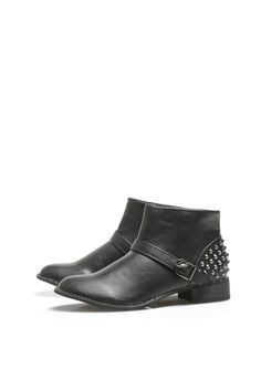 Studded Ankle Boots - £39.99