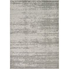Unique Mar Solid Grey Area Rug (7'x10') (Grey - 10 feet x 7 feet), Size 7' x 10'