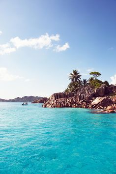 protect our world!# Inspiration - plus it's a hot day in Chicago and this place called Seychelles Island looks nice and tropical! Vacation Places, Honeymoon Destinations, Dream Vacations, Vacation Spots, Places To Travel, Les Seychelles, Seychelles Islands, Praslin Seychelles, Oh The Places You'll Go