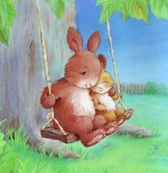 Cee Biscoe - rabbits_on_swing.jpg