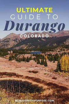 Durango, Colorado: 30 Insanely Epic Things to do Chile Colorado, Denver Colorado, Colorado Springs, Pueblo Colorado, Telluride Colorado, Estes Park Colorado, Breckenridge Colorado, Road Trip To Colorado, Colorado Hiking