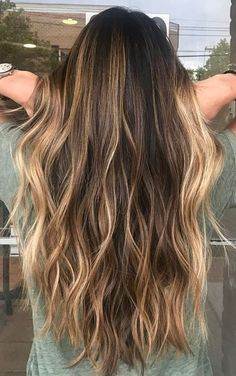 Perfect bronde.