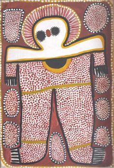 Lily Karadada / Wandjina Aboriginal Art – Buy Authentic Australian Indigenous Art and Paintings Aboriginal Painting, Aboriginal Artists, Aboriginal People, Dot Painting, Aboriginal Culture, Aboriginal History, Stippling Art, Arte Tribal, Australian Art
