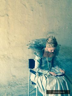 Always with you.@Alexandra Dowling, BtS of The Musketeers 2x06.