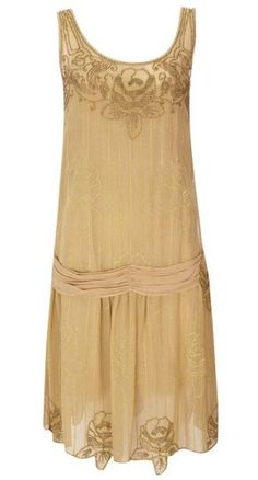 Modern Flapper Dress | The 1920s drop-waist flapper dress (brought on by the Yahoo list of ...