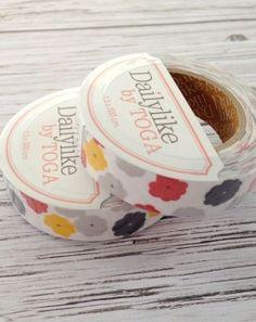 Dailylike - Fabric tape available at Tissu & Co Switzerland