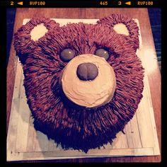 3 Little Things...: Easy Bear Cake