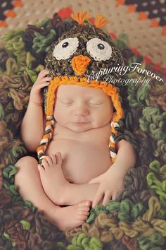 Check out this item in my Etsy shop https://www.etsy.com/listing/468439555/crochet-camo-owl-hat-newborn-baby