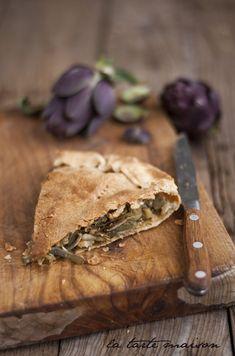 Per affrontare con gusto e benessere l'inverno, un deliziosa #torta di #carciofi freschi! :)