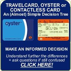 Travelcard or Oyster Cards In London Discussion